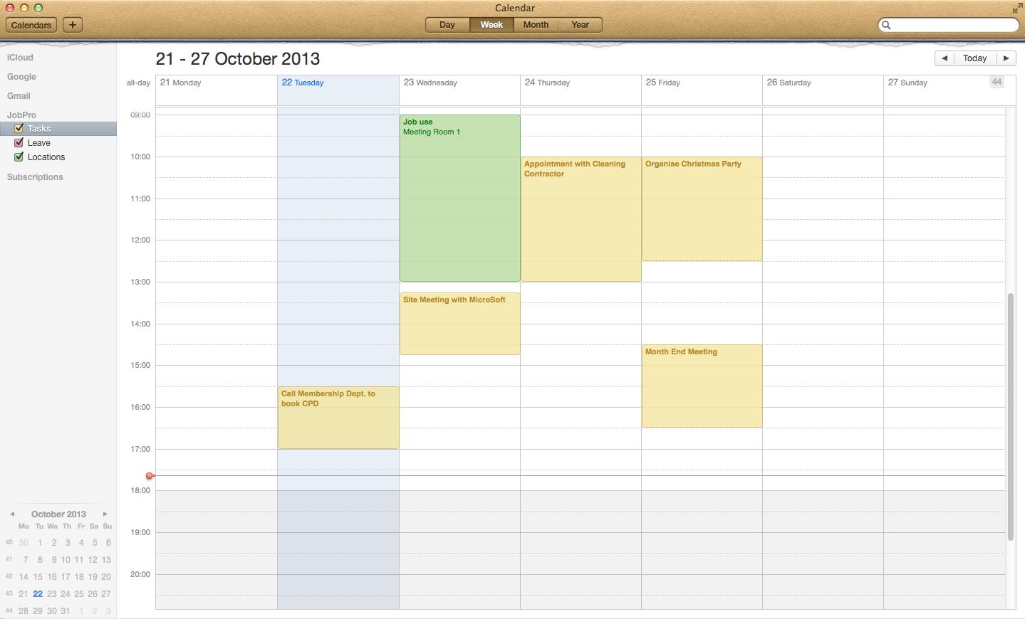 Apple Calendar